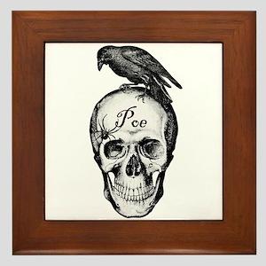 Raven Poe Framed Tile