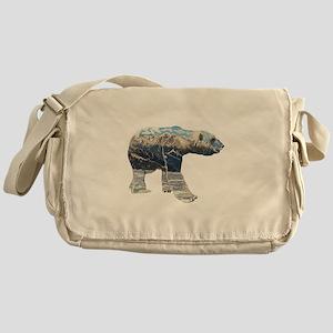 Tundar Polar Bear Messenger Bag