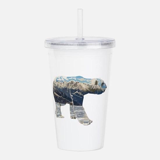 Tundar Polar Bear Acrylic Double-Wall Tumbler