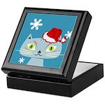 CHRISTMAS KITTY Keepsake Box