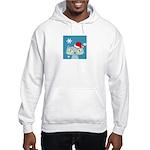 CHRISTMAS KITTY Hooded Sweatshirt