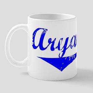 Aryana Vintage (Blue) Mug