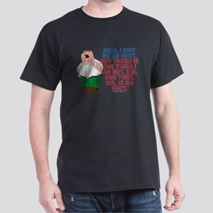 Family Guy Idiot Dark T-Shirt