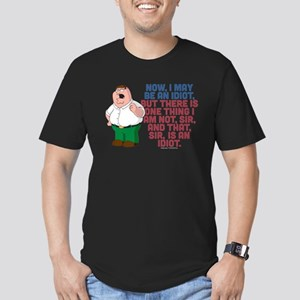 Family Guy Idiot Men's Fitted T-Shirt (dark)