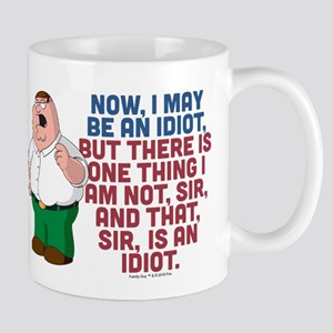 Family Guy Idiot Mug