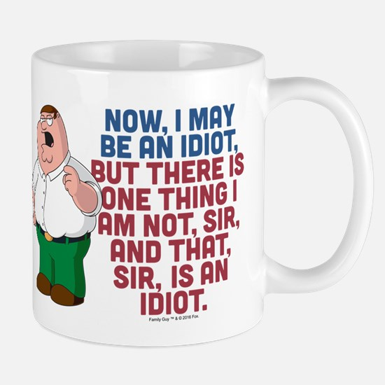 Family Guy Idiot Mug