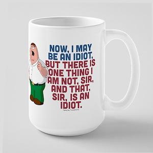 Family Guy Idiot Large Mug