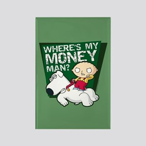 Family Guy My Money Rectangle Magnet