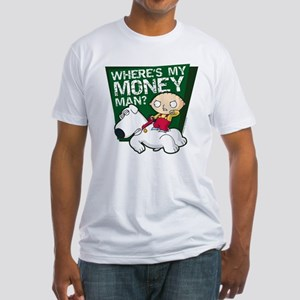 Family Guy My Money Fitted T-Shirt