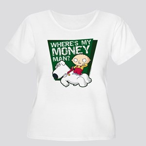 Family Guy My Women's Plus Size Scoop Neck T-Shirt