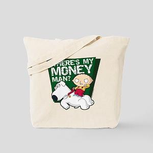 Family Guy My Money Tote Bag