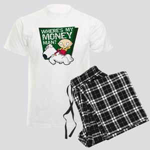Family Guy My Money Men's Light Pajamas