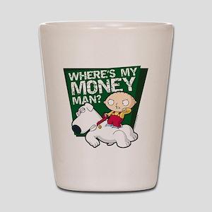 Family Guy My Money Shot Glass