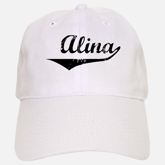 Alina Vintage (Black) Baseball Baseball Cap