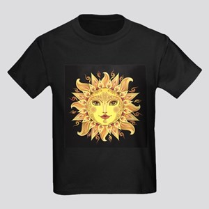 Stylish Sun Kids Dark T-Shirt