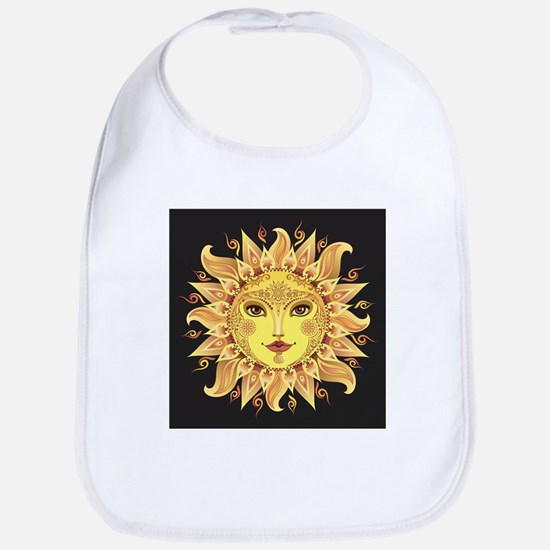 Stylish Sun Cotton Baby Bib