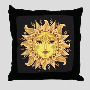 Stylish Sun Throw Pillow