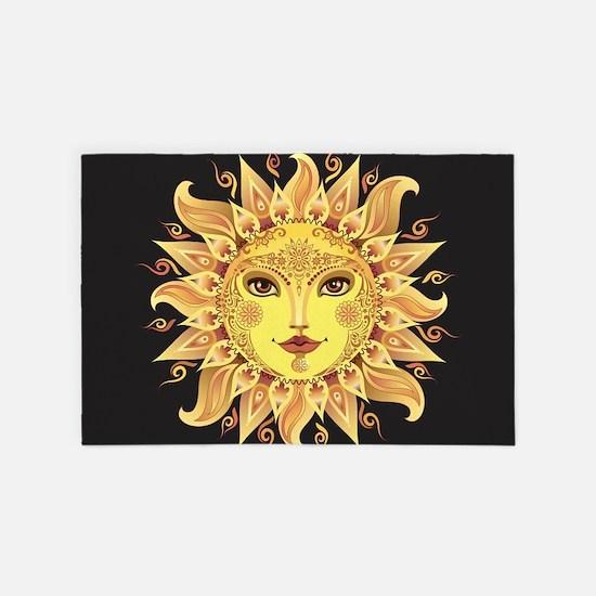 Stylish Sun 4' x 6' Rug