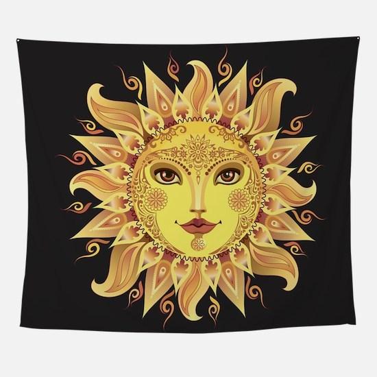 Stylish Sun Wall Tapestry