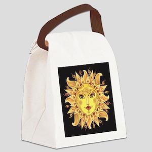 Stylish Sun Canvas Lunch Bag
