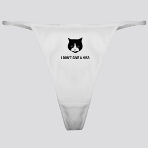 Cat Don't Give A Hiss Classic Thong