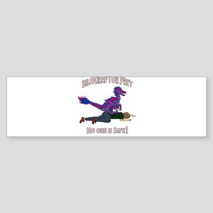 Bilociraptor Prey - Bisexual Support Bumper Sticke