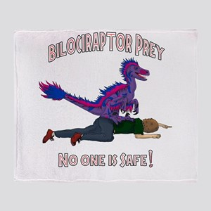 Bilociraptor Prey - Bisexual Support Throw Blanket