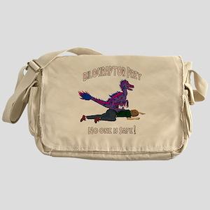 Bilociraptor Prey - Bisexual Support Messenger Bag
