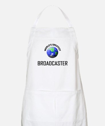 World's Greatest BROADCASTER BBQ Apron