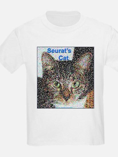 Seurat's Cat Kids T-Shirt