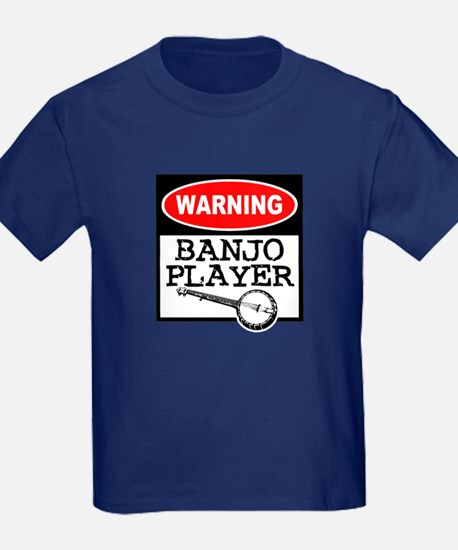Warning Banjo Player T