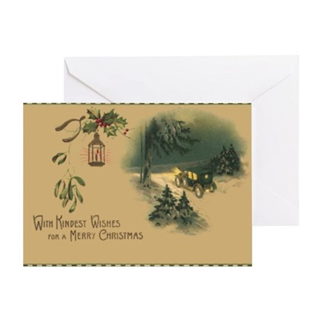 Kindest Wishes Christmas Greeting Card