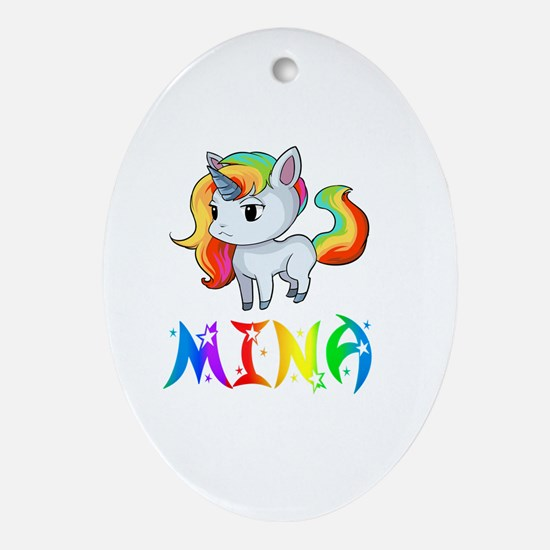 Cool Mina Oval Ornament