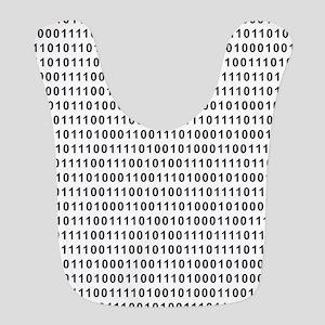 Binary Code 101 Polyester Baby Bib