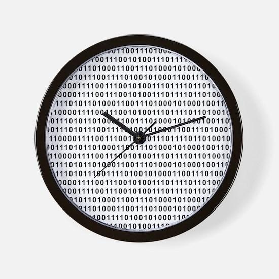 Binary Code 101 Wall Clock