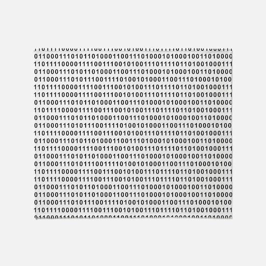 Binary Code 101 Throw Blanket