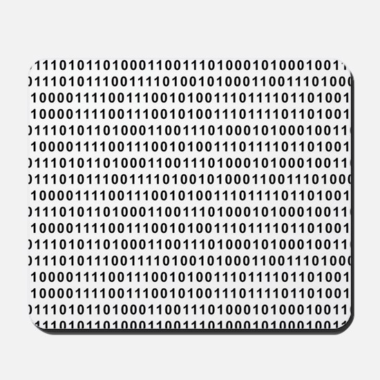 Binary Code 101 Mousepad