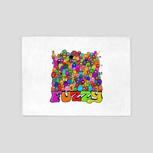 Fuzzy bunch 5'x7'Area Rug