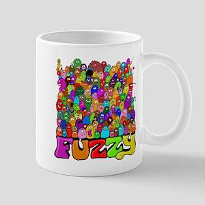 Fuzzy bunch Mugs