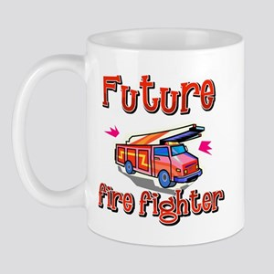 Future firefighter just like my big brother Mug