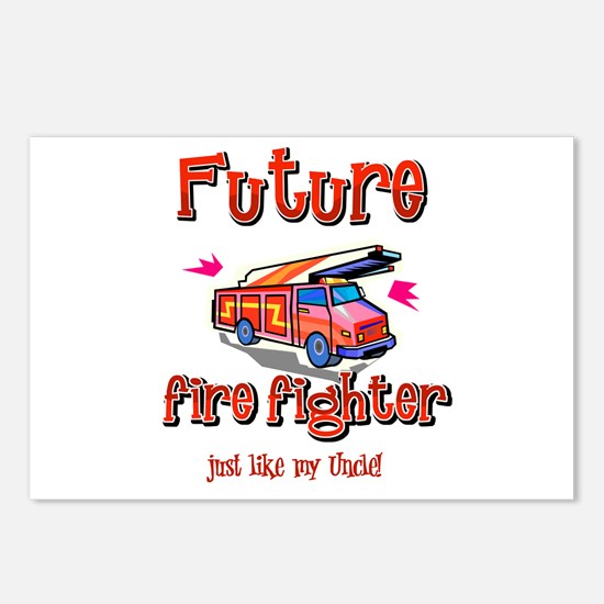 Future firefighter Postcards (Package of 8)
