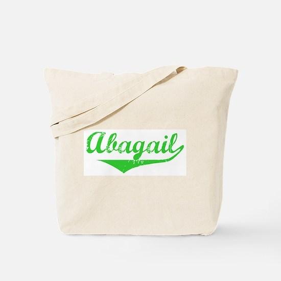 Abagail Vintage (Green) Tote Bag