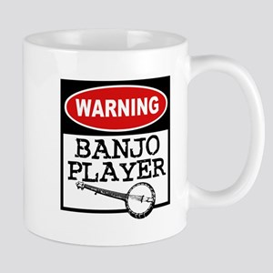 Warning Banjo Player Mug