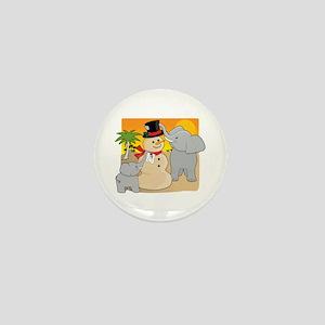 Sahara Christmas Mini Button