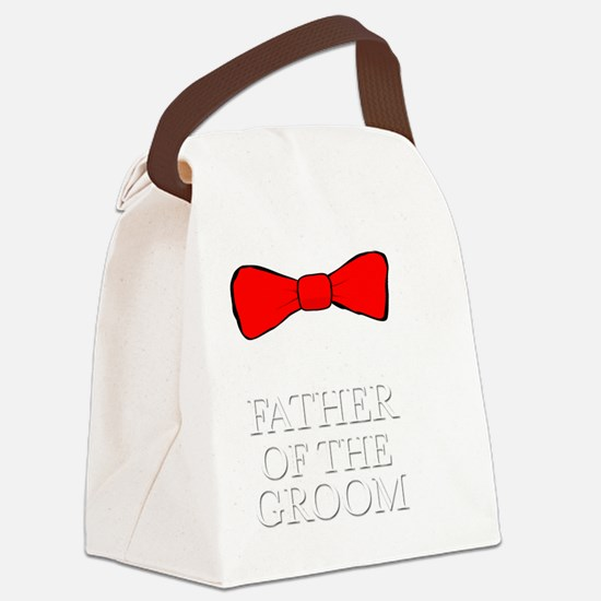 Cute Father of the groom Canvas Lunch Bag