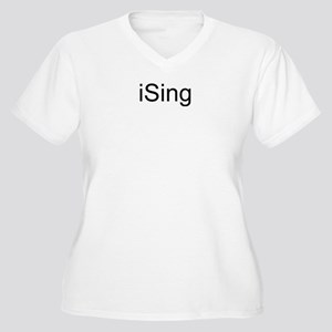 iSing Women's Plus Size V-Neck T-Shirt