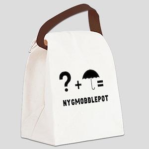 +Nygmobblepot Canvas Lunch Bag