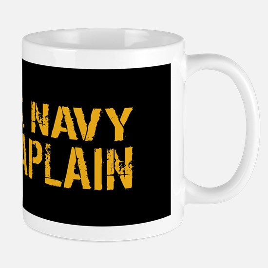 U.S. Navy: Chaplain (Black & Gold) Mug