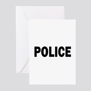 Police Greeting Cards (Pk of 20)