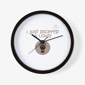 I just DROPPED a LOAD! Gas Ma Wall Clock